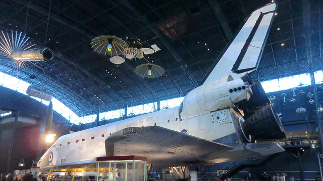 NASA Space Shuttle DISCOVERY - 39 times in Space - the world record holder for most space missions