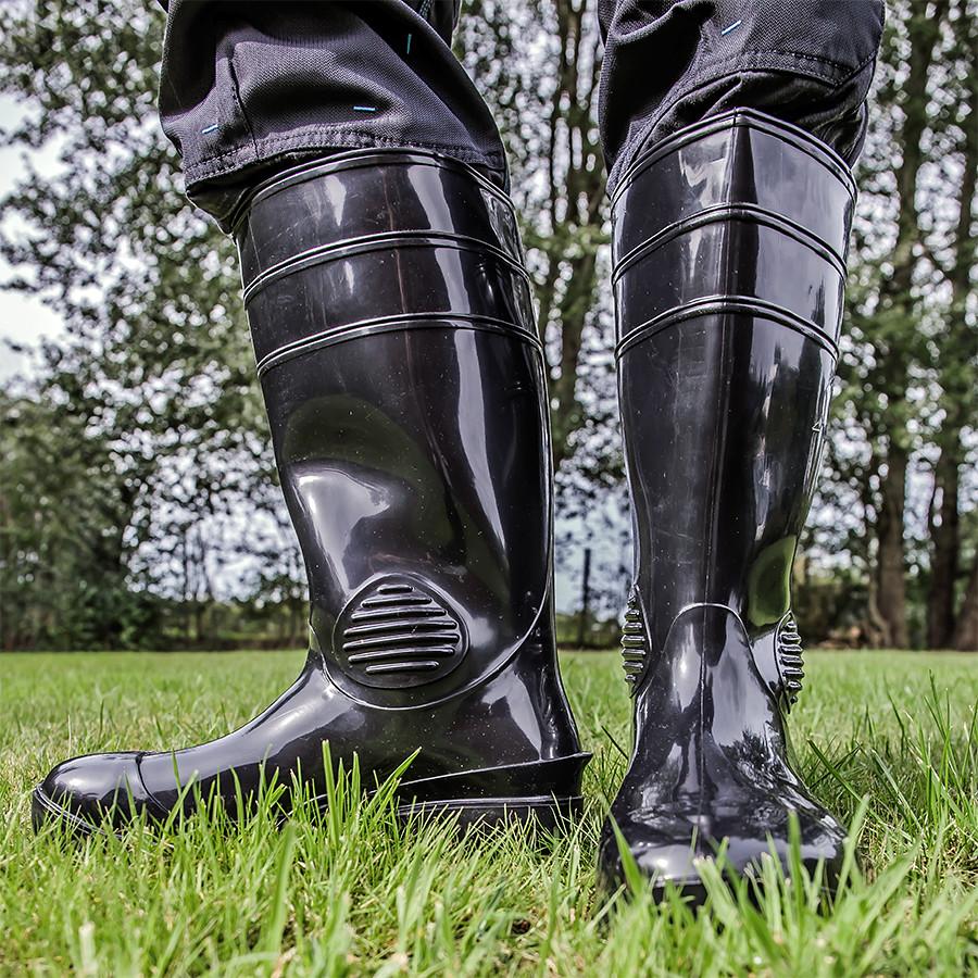competitive price 327ad fc3bd Schwarze glänzende Gummistiefel | Da ich diese Stiefel so sc ...