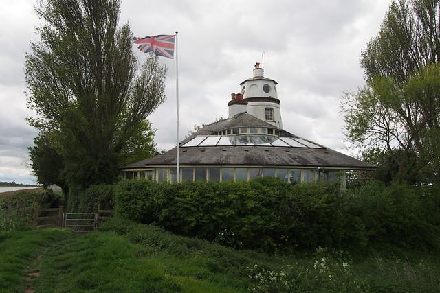 Lighthouse beside the river Nene