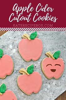 Apple Cider Cutout Cookies | by katesrecipebox