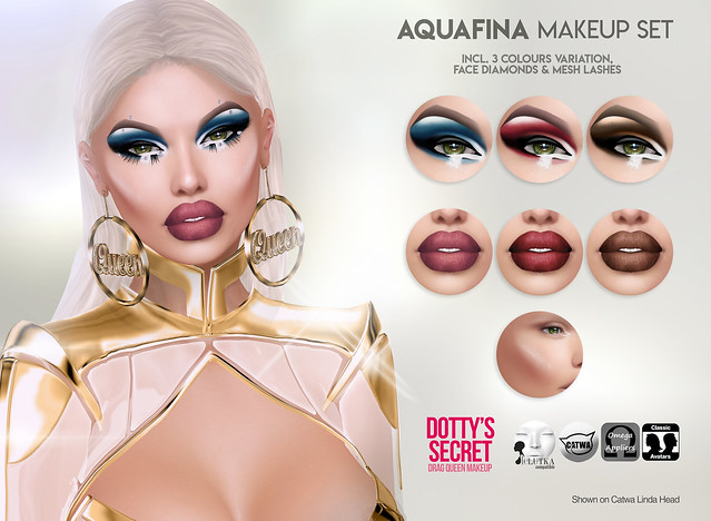 Dotty's Secret - Aquafina - Makeup Set