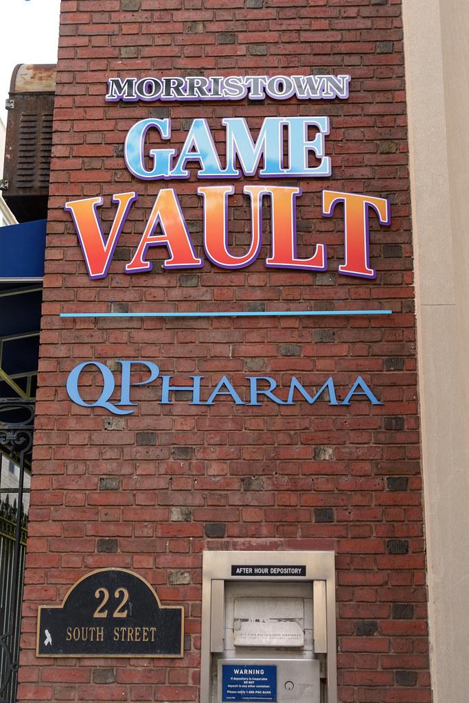 Game Vault, Morristown, NJ 9/1/18