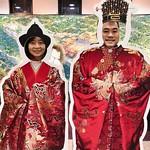 Ryukyu Nobles Historical Okinawan royal garb.