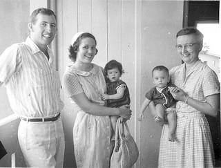 John Ingold family Anna Marie Kurtz Ghana 1963