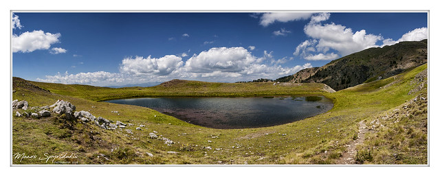 Drakolimni (dragon lake) of Smolikas mt.