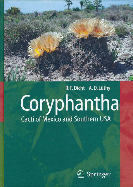 Coryphantha - Cacti of Mexico and Southern USA