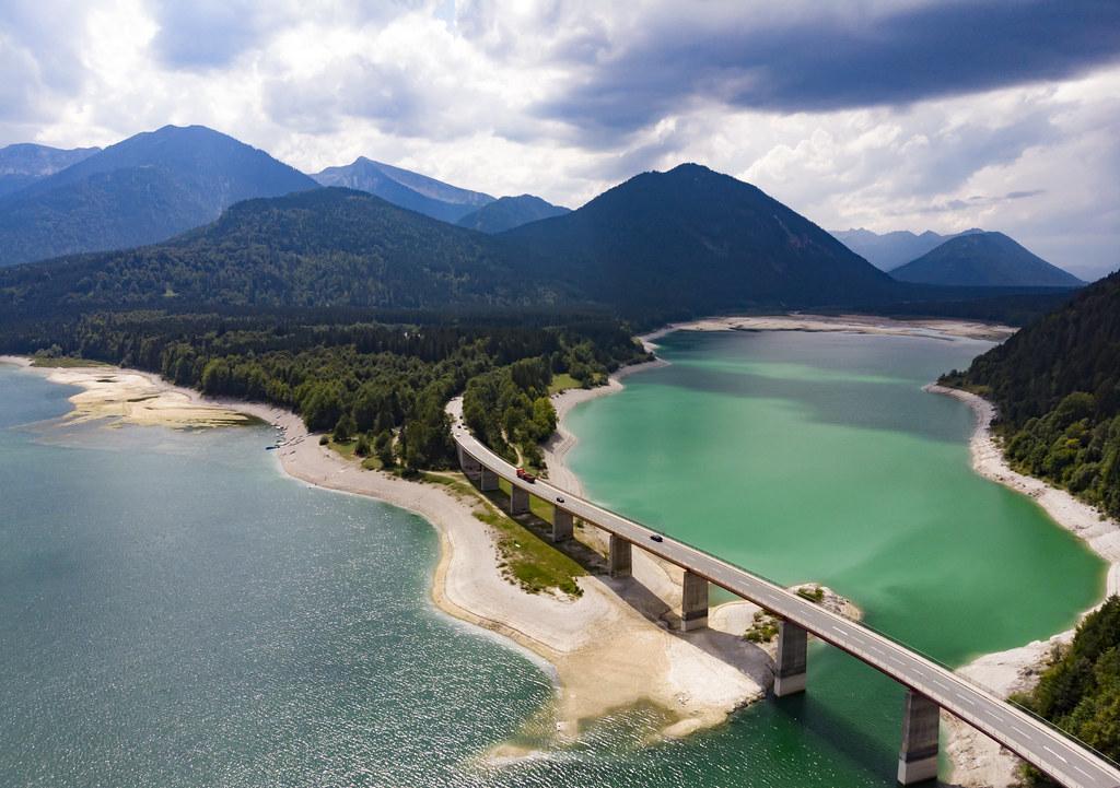 Sylvenstein Dam | The iconic bridge that spans the Sylvenste… | Flickr