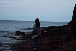 by the sea