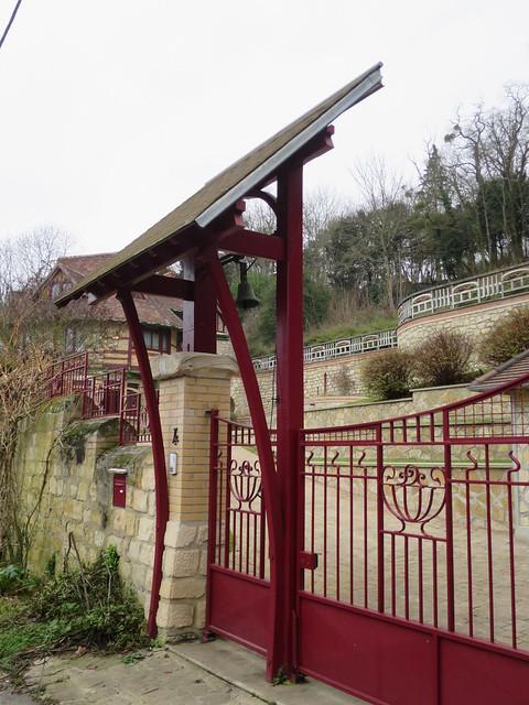 Quel est ce lieu??? Castel Val (1903) – 4 rue des Meulières, Auvers-sur-Oise (95)