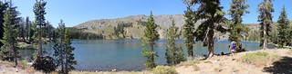 2602 Wide panorama shot of Gilmore Lake just off the PCT - we decided not to camp here and headed onward | by _JFR_