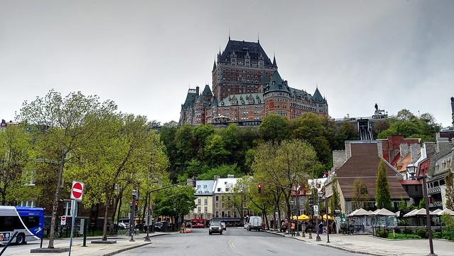 Rue du Marche Champlain - Chateau Frontenac Quebec