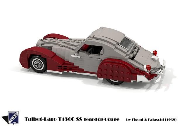Talbot-Lago T150C SS Teardrop Coupe (Figoni & Falaschi) 1938