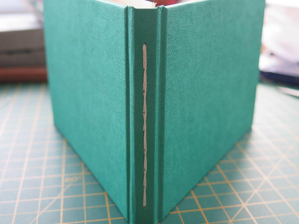 Sewn Through Spine Binding