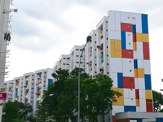 Mondrian at Teck Whye | by wordingart