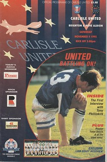 21. Carlisle V Brighton 4-11-95 | by cumbriangroundhopper