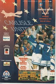 13.Carlisle V Hull 23-9-95   by cumbriangroundhopper