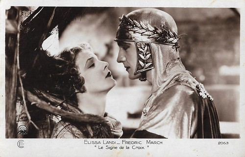 Fredric March and Elissa Landi in The Sign of the Cross (1932)