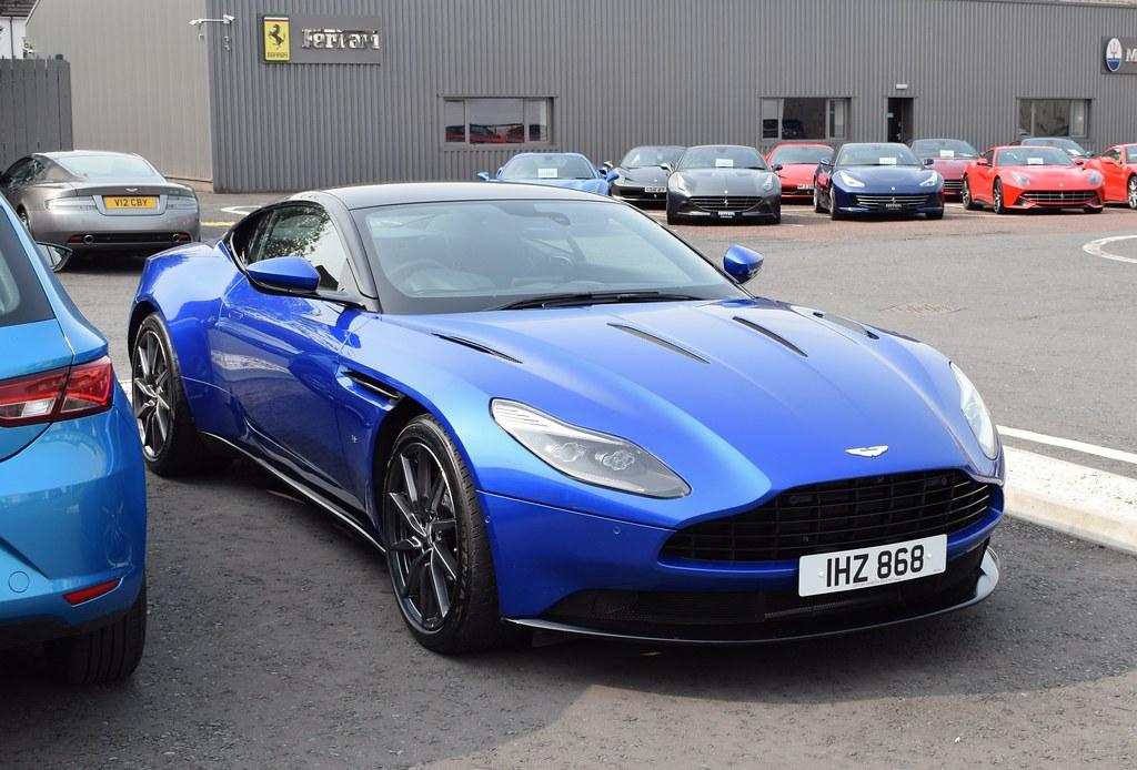 2018 Aston Martin Db11 V12 Tiarnan Flickr