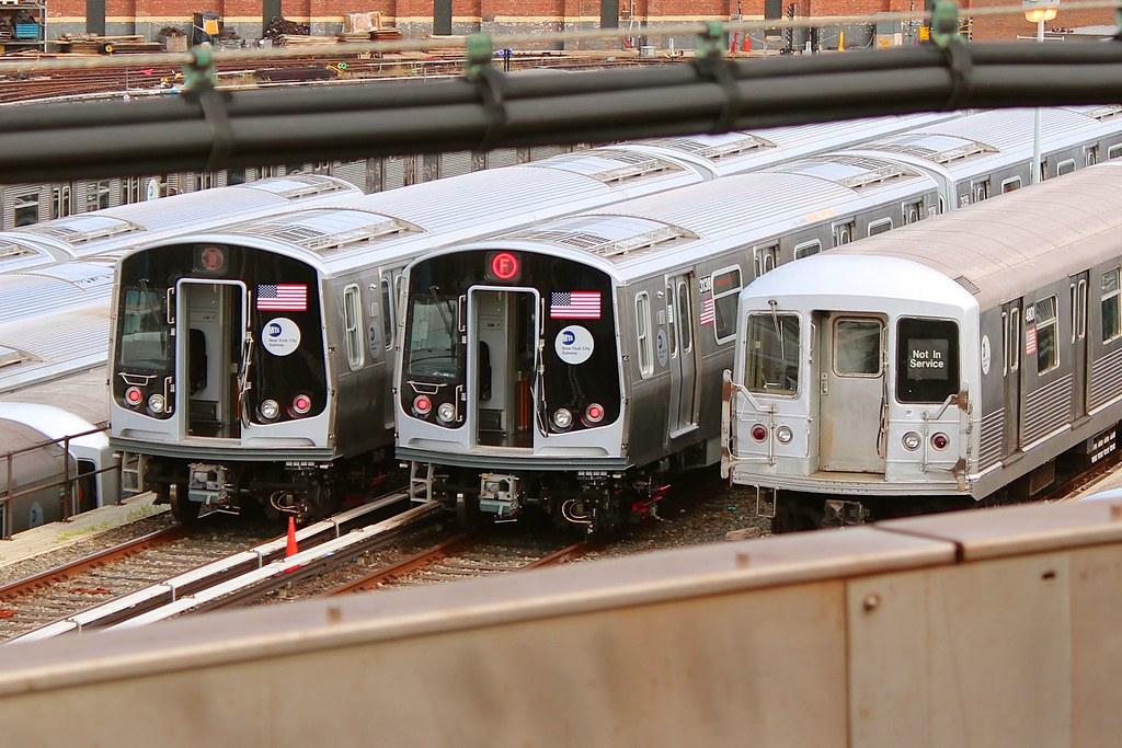MTA Bombardier R179
