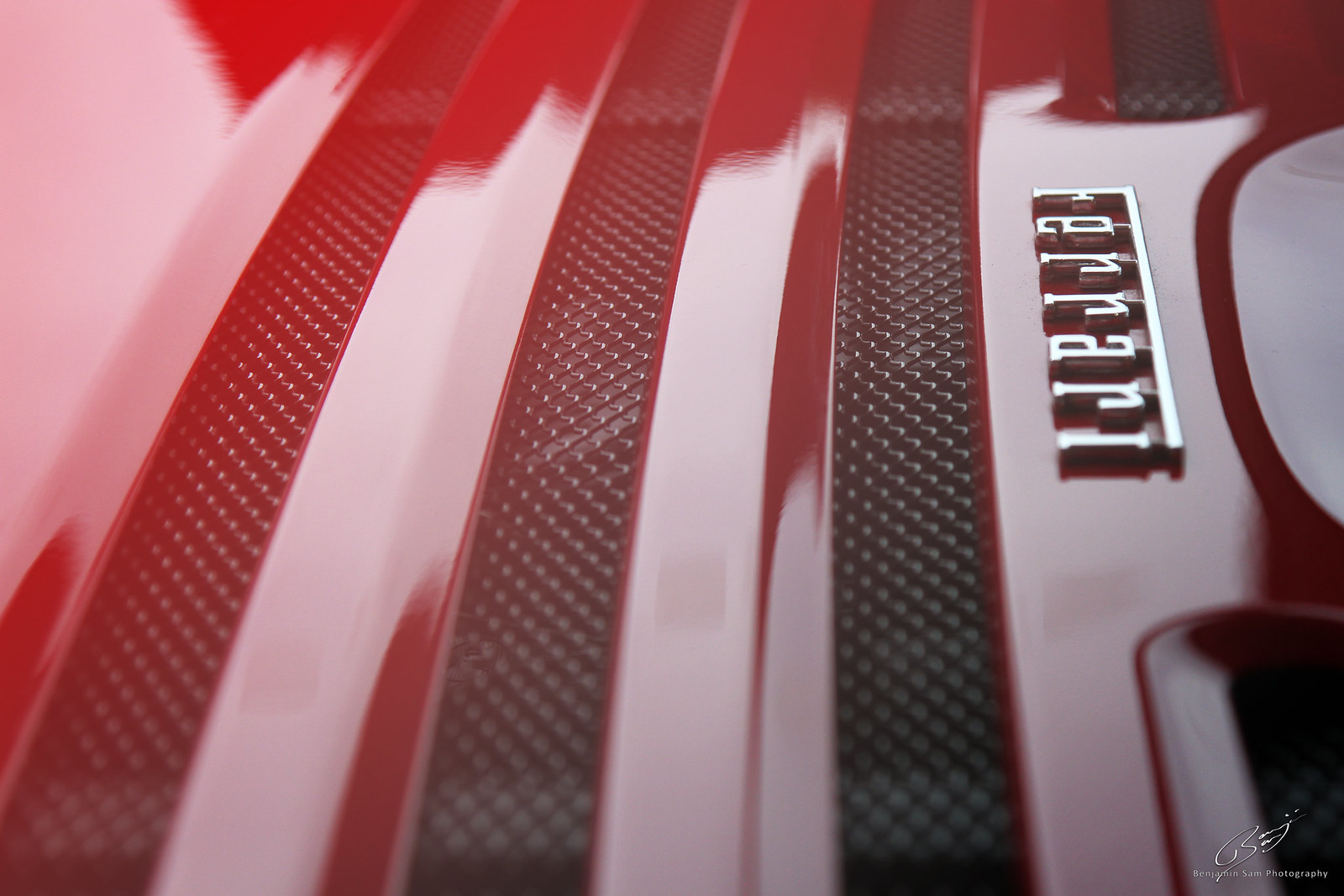 Ferrari F355 Engine Cover