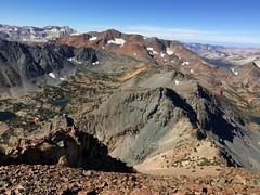 2018 8-25 - Virginia Lakes - Dunderberg Peak Climb - View West