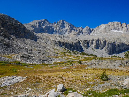 Meadow on the JMT north of Forester | by snackronym
