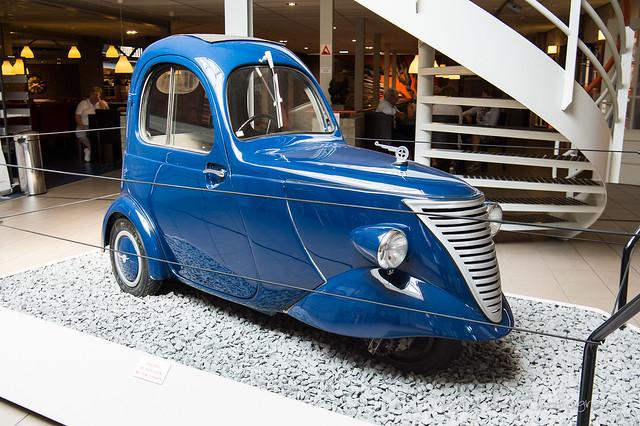 Daf 'Mobile Raincoat' Concept - ca. 1943