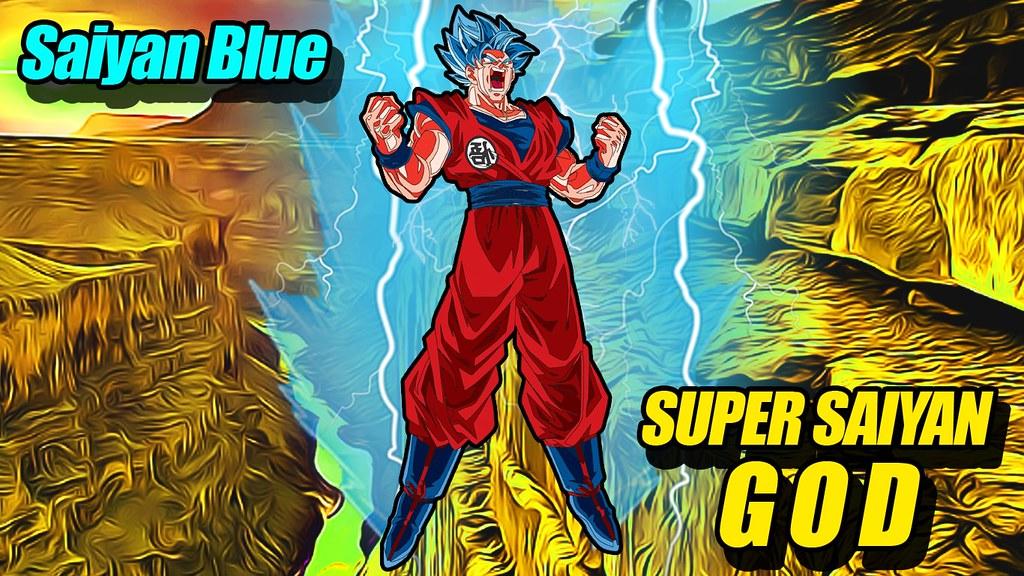 Super Saiyan Blue Goku Video How To Draw Super Saiyan Blue