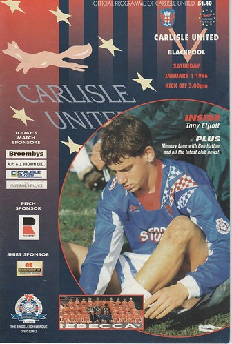 33.Carlisle V Blackpool 1-1-96 | by cumbriangroundhopper