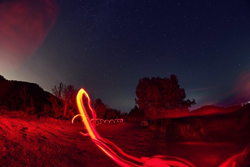 lomaprieta losgatos santacruz california siliconvalley sanfranciscobay sanfranciscobayarea southbay mountain sky outdoor night clear hazy haze star stargazing bush grass light lightpainting trail lighttrail sony a7 a7ii a7mii alpha7mii ilce7m2 fullframe rokinon12mmf28 fisheye fisheyelens wideangle 1xp raw photomatix hdr qualityhdr qualityhdrphotography fav100 tree road