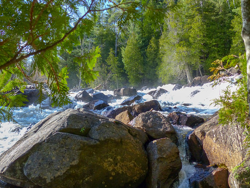 Oxtongue River - Ragged Falls Provincial Park (4) | by Brown Bear Travels