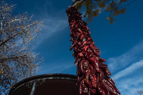 peppers santa fe new mexico usa unitedstatesofamerica urban city cityview southwest plaza park basilica cathedral