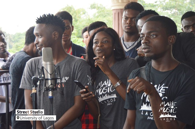 Make Music Lagos 2018 - Street Studio