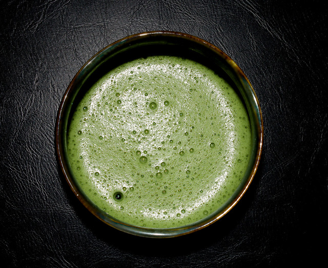 Meditative matcha moments