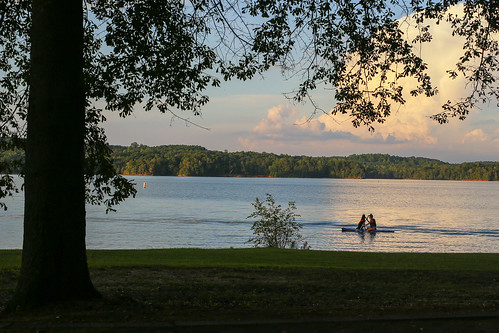 canon 6d sigma 50mm art lens andersonsc oconee county southcarolina pendleton townvillesc clemsonsc lakehartwell dog girl boat surfboard sunset outdoor scenic tree clouds paddling serene dusk rural upstate oconeepoint corpsofengineers campsite summer september southern america usa