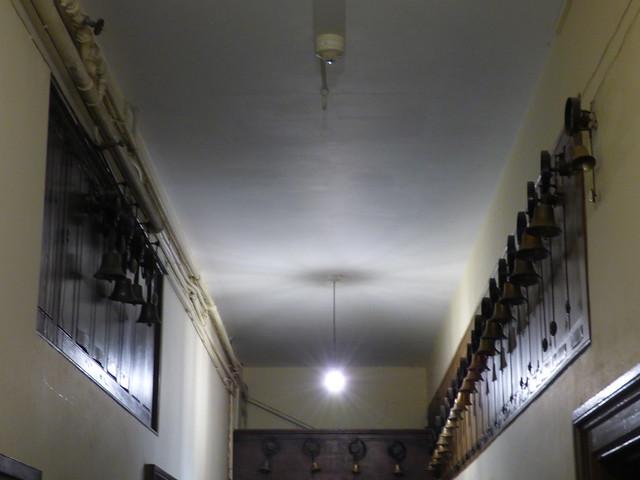 Charlecote Park - Servant's Hall - servant's bells