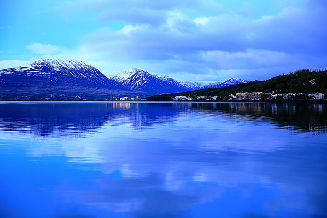 Blaues Akureyri