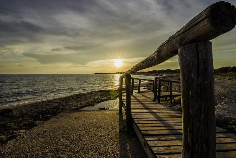 tramonti dal salento italy.