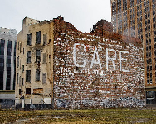 20120123-Care building in downtown Detroit | by C E Andersen