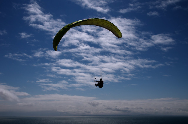 Normandy Paraglider