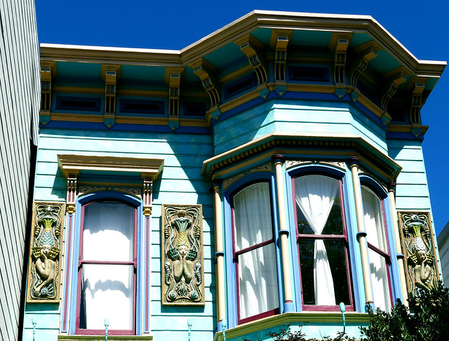 sunday streets in the mission, architecture  7-18*