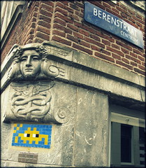 Invader, Berenstraat, Amsterdam