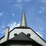 Rückseite der St.-Georgs-Kirche