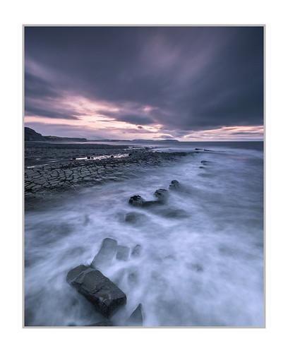 kilve somerset quantocks sunset rocks