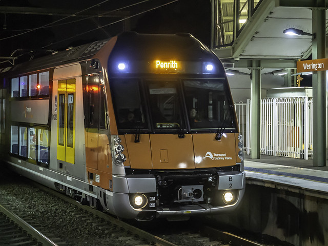 Sydney Trains Waratah Series 2 B Set B2 D1202