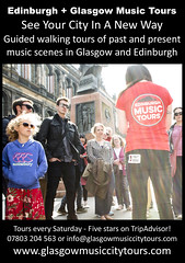 Glasgow + Edinburgh Music Tours