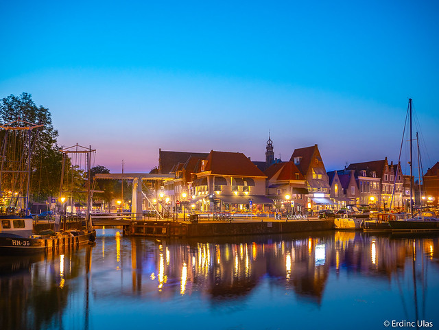 Blue hour in Holland