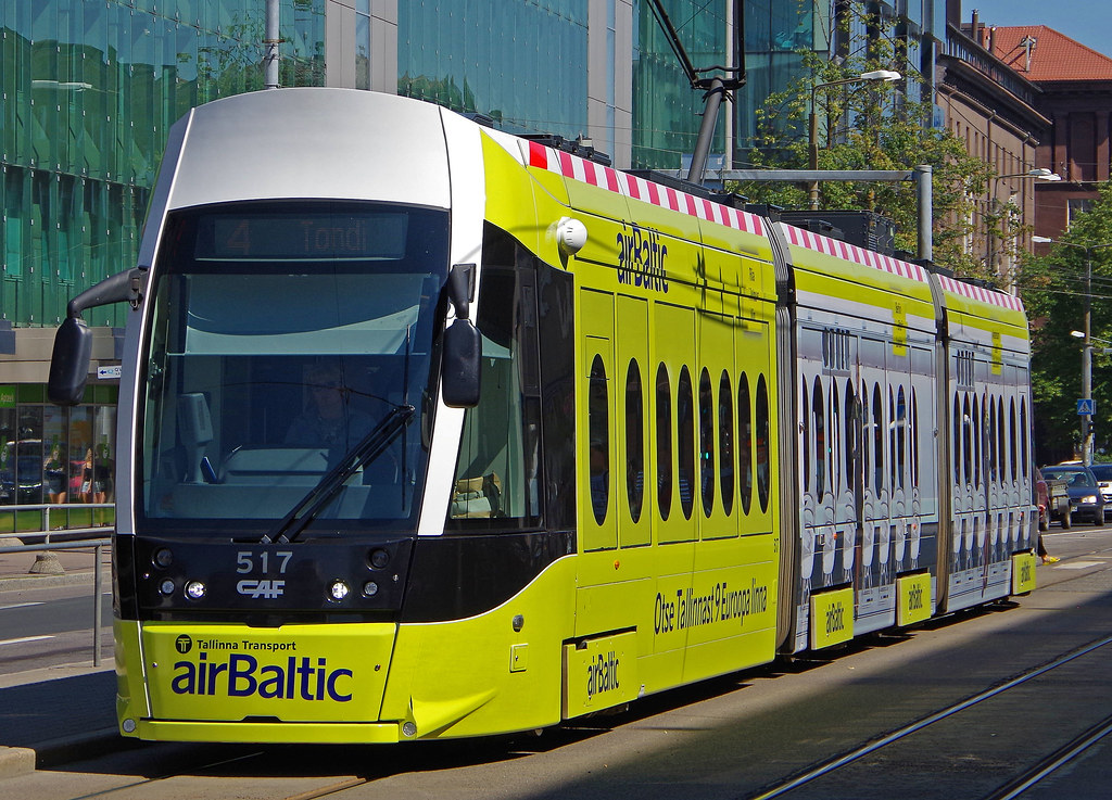 c8314c8f307 ... CAF Urbus XL Tram - TLT Tallinna Transport Tallinn Estonia | by  scotrailm 63A