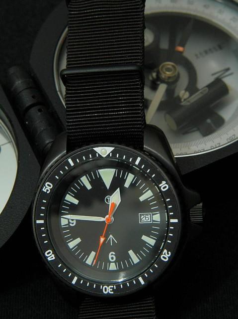 Mil Style Diver - Black