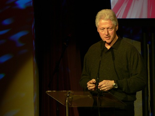 Bill Clinton Accepting TED 2007 Prize 6 of 7 | by advencap
